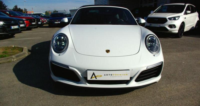 Porsche 911 Type 991 CARRERA CABRIOLET 991 4S 3.0i 420 PDK Blanc occasion à SAINT MAXIMUM - photo n°2