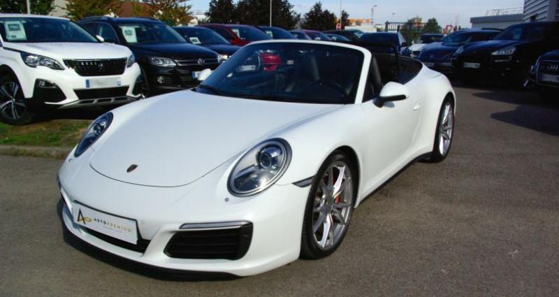 Porsche 911 Type 991 CARRERA CABRIOLET 991 4S 3.0i 420 PDK Blanc occasion à SAINT MAXIMUM - photo n°3