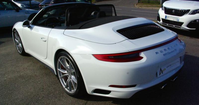 Porsche 911 Type 991 CARRERA CABRIOLET 991 4S 3.0i 420 PDK Blanc occasion à SAINT MAXIMUM - photo n°4