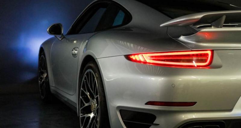 Porsche 911 Type 991 Coup Turbo S (type 991) Gris occasion à Brest - photo n°7
