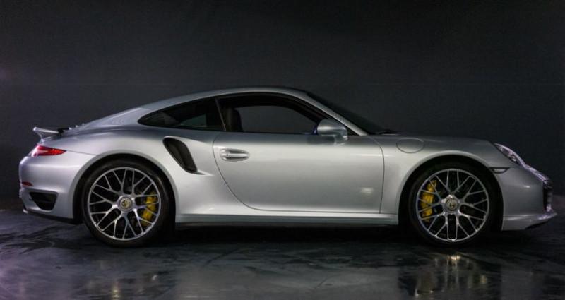 Porsche 911 Type 991 Coup Turbo S (type 991) Gris occasion à Brest