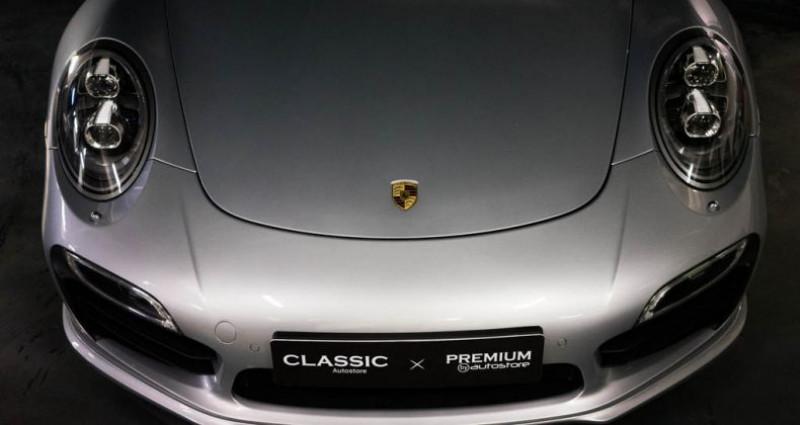 Porsche 911 Type 991 Coup Turbo S (type 991) Gris occasion à Brest - photo n°5