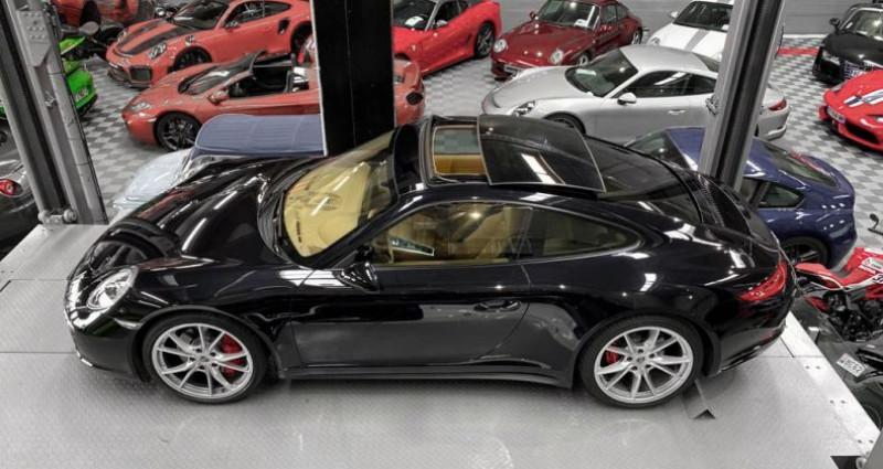 Porsche 911 Type 991 PORSCHE 911 (type 991 Phase 2) Carrera 4S 3.0 420 CH Noir occasion à SAINT LAURENT DU VAR - photo n°4