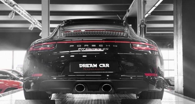 Porsche 911 Type 991 PORSCHE 911 (type 991 Phase 2) Carrera 4S 3.0 420 CH Noir occasion à SAINT LAURENT DU VAR - photo n°6