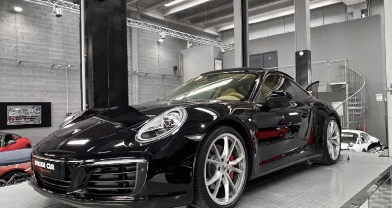 Porsche 911 Type 991 PORSCHE 911 (type 991 Phase 2) Carrera 4S 3.0 420 CH Noir occasion à SAINT LAURENT DU VAR