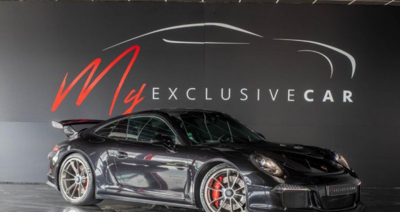 Porsche 911 Type 991 PORSCHE 911 Type 991 GT3 Phase 1 3.8 476 CH PDK Noir occasion à LISSIEU - photo n°3
