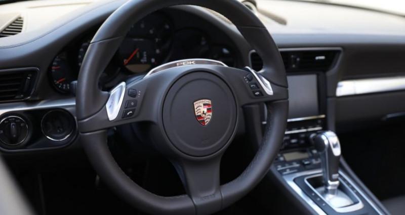 Porsche 911 Type 991 PORSCHE 991 CARRERA 4S CABRIOLET 59700KMS PDK 400CV Gris occasion à BOULOGNE BILLANCOURT - photo n°6