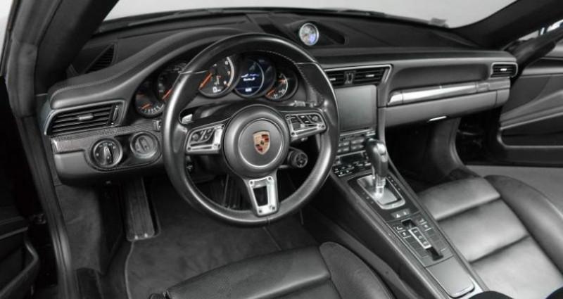 Porsche 911 Type 991 TYPE 991 .2 TURBO S CABRIOLET 580CH Noir occasion à Paris - photo n°3
