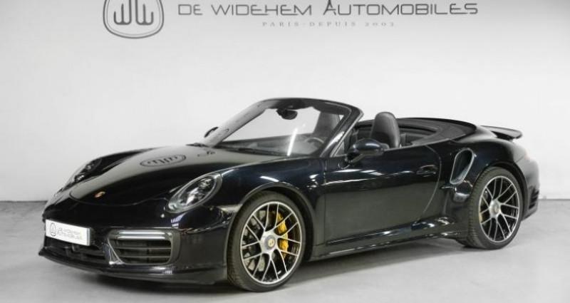 Porsche 911 Type 991 TYPE 991 .2 TURBO S CABRIOLET 580CH Noir occasion à Paris