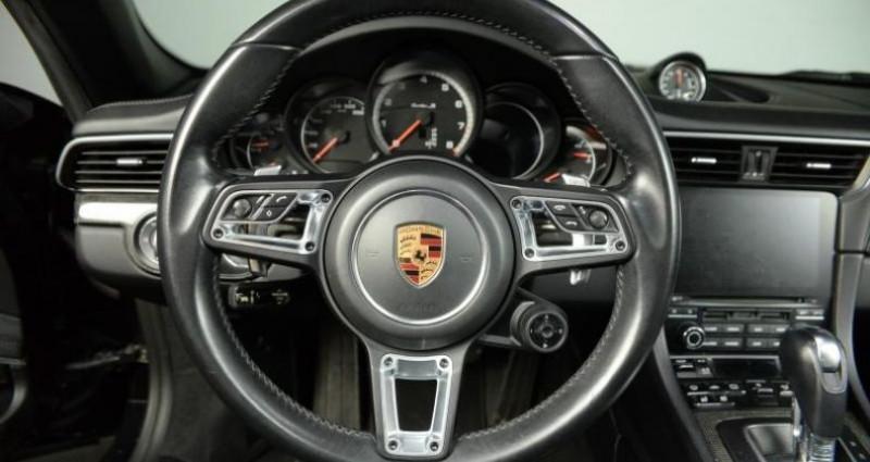 Porsche 911 Type 991 TYPE 991 .2 TURBO S CABRIOLET 580CH Noir occasion à Paris - photo n°4