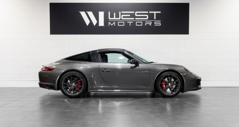 Porsche 911 Type 991 Type 991 Phase 2 4 GTS 450 Ch Gris occasion à DARDILLY - photo n°4