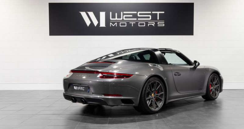 Porsche 911 Type 991 Type 991 Phase 2 4 GTS 450 Ch Gris occasion à DARDILLY - photo n°5