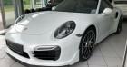 Porsche 911 Type 991 V (991) Turbo S Blanc à Boulogne-Billancourt 92