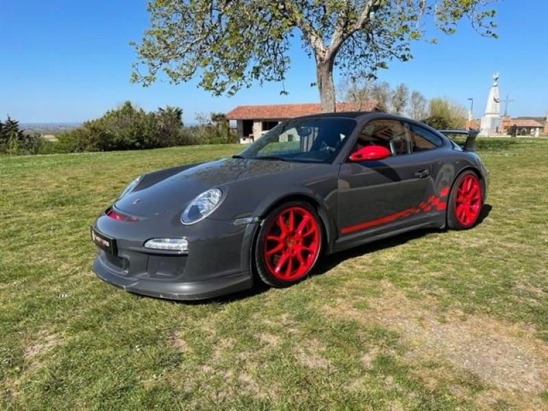 Porsche 911 Type 997 (997) 3.6 415 GT3 Gris occasion à Vacquiers - photo n°2