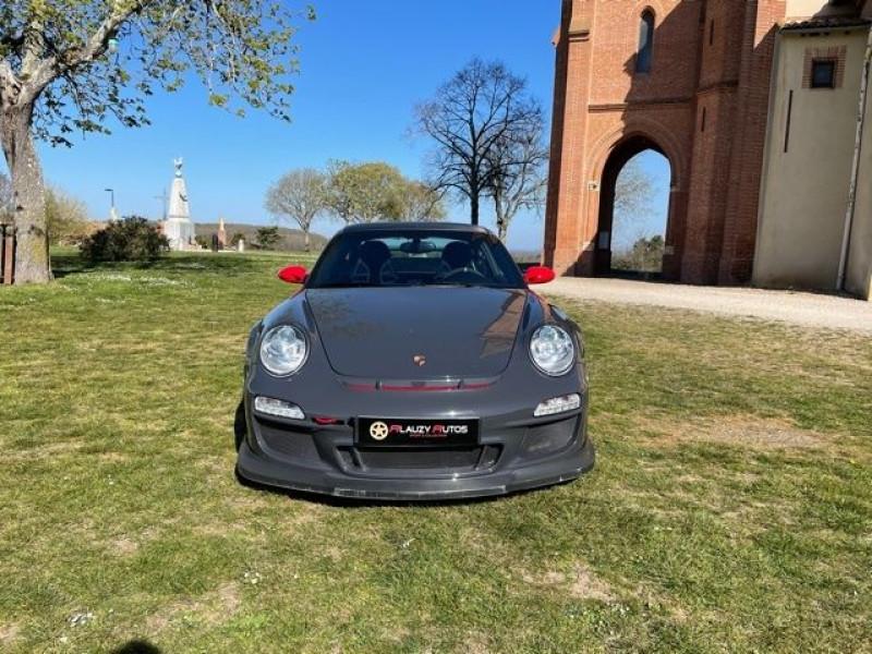Porsche 911 Type 997 (997) 3.6 415 GT3 Gris occasion à Vacquiers - photo n°3