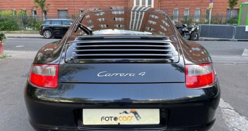 Porsche 911 Type 997 (997) CARRERA 4 TIPTRONIC S Noir occasion à REZE - photo n°4