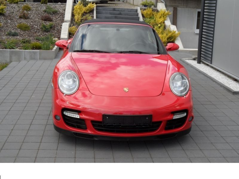 Porsche 911 Type 997 3.6 Turbo PDK Cabriolet Rouge occasion à BEAUPUY - photo n°9