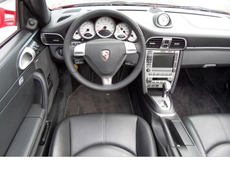 Porsche 911 Type 997 3.6 Turbo PDK Cabriolet Rouge occasion à BEAUPUY - photo n°4