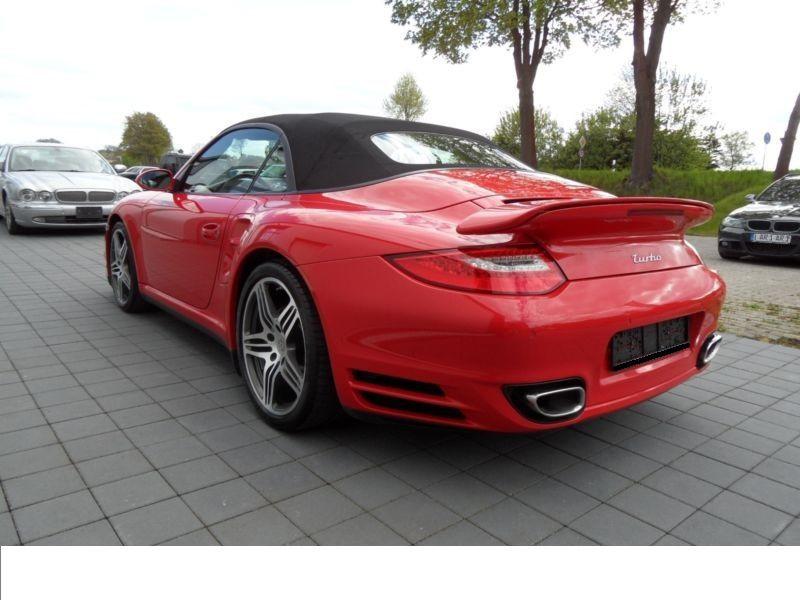 Porsche 911 Type 997 3.6 Turbo PDK Cabriolet Rouge occasion à BEAUPUY - photo n°2