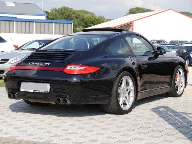 Porsche 911 Type 997 3.8 Carrera 4S Noir occasion à BEAUPUY - photo n°3