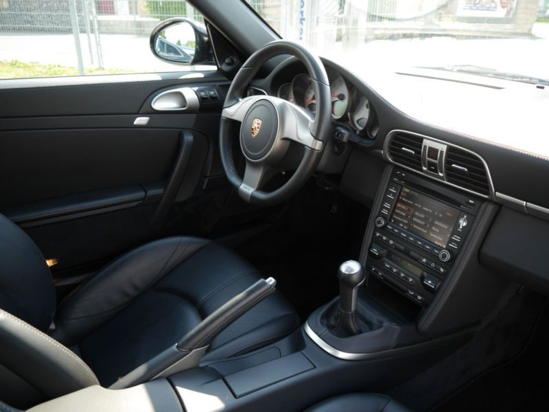 Porsche 911 Type 997 3.8 Carrera 4S Noir occasion à BEAUPUY - photo n°2
