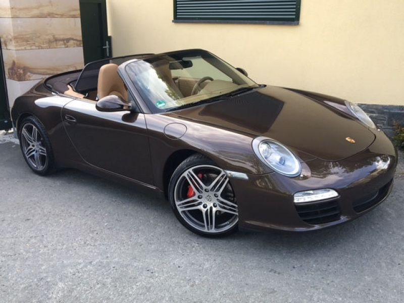 Porsche 911 Type 997 3.8 Carrera S Cabriolet Marron occasion à BEAUPUY - photo n°6