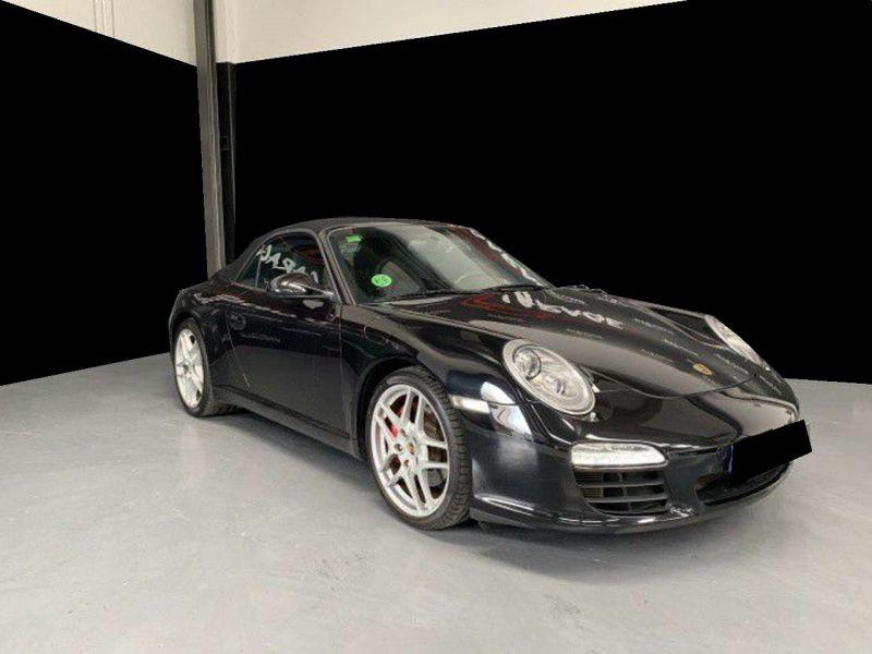 Porsche 911 Type 997 3.8 Carrera S PDK Cabriolet Noir occasion à BEAUPUY - photo n°9