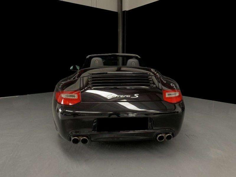 Porsche 911 Type 997 3.8 Carrera S PDK Cabriolet Noir occasion à BEAUPUY - photo n°5