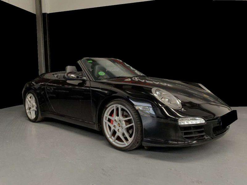 Porsche 911 Type 997 3.8 Carrera S PDK Cabriolet Noir occasion à BEAUPUY - photo n°8