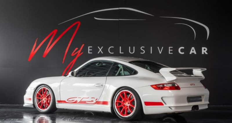 Porsche 911 Type 997 911 Type 997 Phase 1 - Pack Sport Chrono, Toit Ouvrant, ...  Blanc occasion à LISSIEU - photo n°2