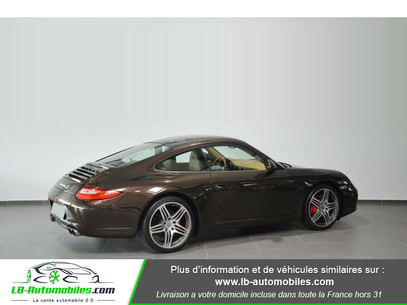 Porsche 911 Type 997 997 3.8 Carrera S PDK Marron occasion à Beaupuy - photo n°3