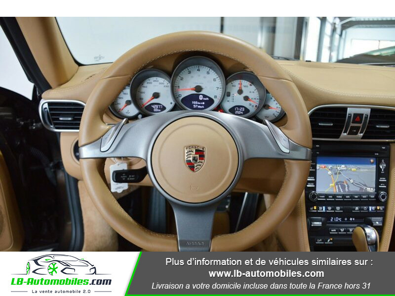 Porsche 911 Type 997 997 3.8 Carrera S PDK Marron occasion à Beaupuy - photo n°2