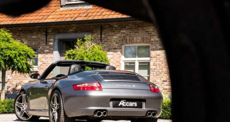 Porsche 911 Type 997 997 C S CABRIO - MANUAL - SPORT EXHAUST Gris occasion à IZEGEM