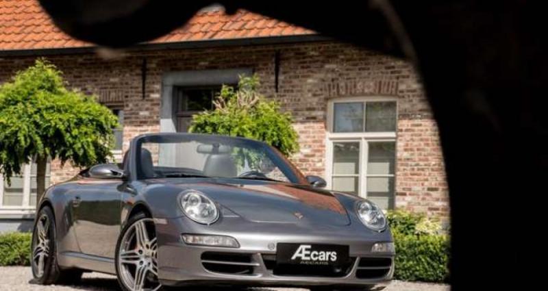 Porsche 911 Type 997 997 C S CABRIO - MANUAL - SPORT EXHAUST Gris occasion à IZEGEM - photo n°2