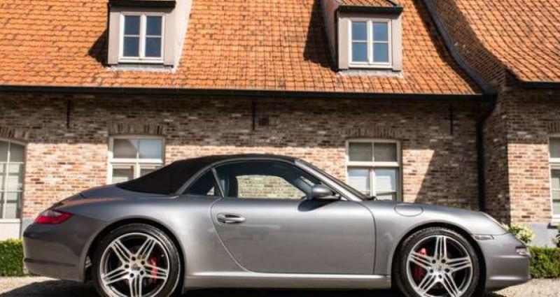 Porsche 911 Type 997 997 C S CABRIO - MANUAL - SPORT EXHAUST Gris occasion à IZEGEM - photo n°5