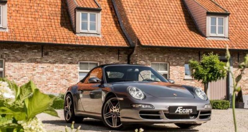 Porsche 911 Type 997 997 C S CABRIO - MANUAL - SPORT EXHAUST Gris occasion à IZEGEM - photo n°6