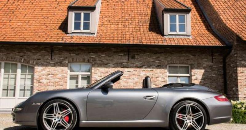 Porsche 911 Type 997 997 C S CABRIO - MANUAL - SPORT EXHAUST Gris occasion à IZEGEM - photo n°3