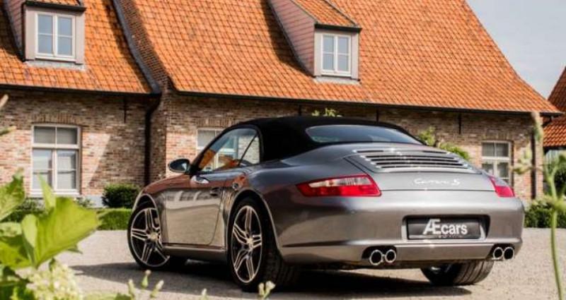 Porsche 911 Type 997 997 C S CABRIO - MANUAL - SPORT EXHAUST Gris occasion à IZEGEM - photo n°4
