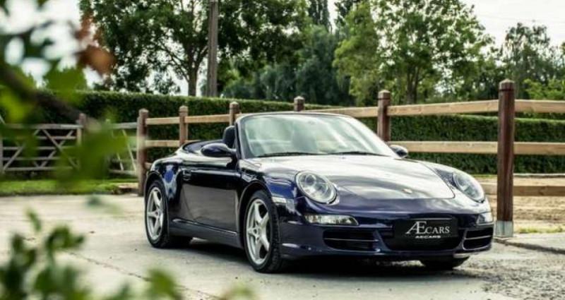 Porsche 911 Type 997 997 - - CARRERA 4 - - MANUAL - - BOSE SOUND Bleu occasion à IZEGEM