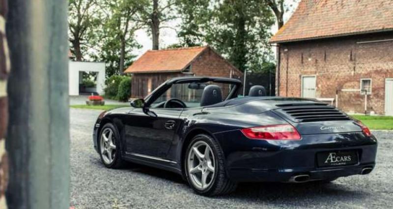 Porsche 911 Type 997 997 - - CARRERA 4 - - MANUAL - - BOSE SOUND Bleu occasion à IZEGEM - photo n°3
