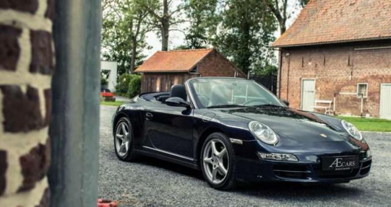 Porsche 911 Type 997 997 - - CARRERA 4 - - MANUAL - - BOSE SOUND Bleu occasion à IZEGEM - photo n°5