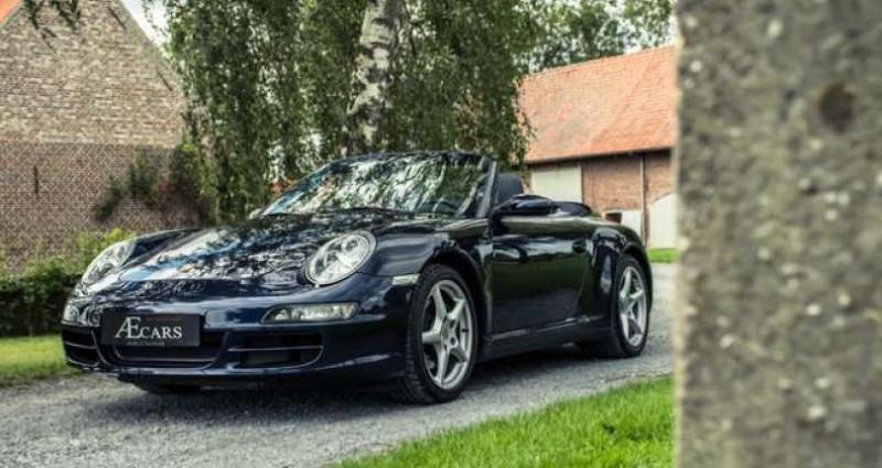 Porsche 911 Type 997 997 - - CARRERA 4 - - MANUAL - - BOSE SOUND Bleu occasion à IZEGEM - photo n°4