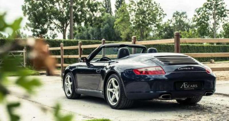 Porsche 911 Type 997 997 - - CARRERA 4 - - MANUAL - - BOSE SOUND Bleu occasion à IZEGEM - photo n°6
