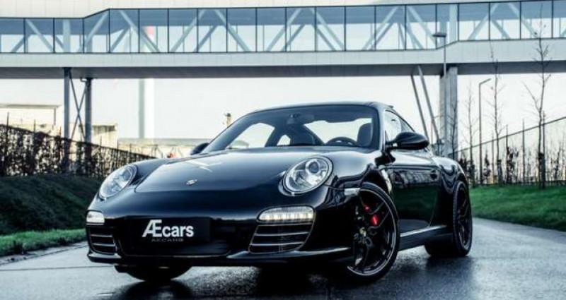 Porsche 911 Type 997 997 TARGA 4S MANUAL - PDK - SPORT EXHAUST Noir occasion à IZEGEM - photo n°4