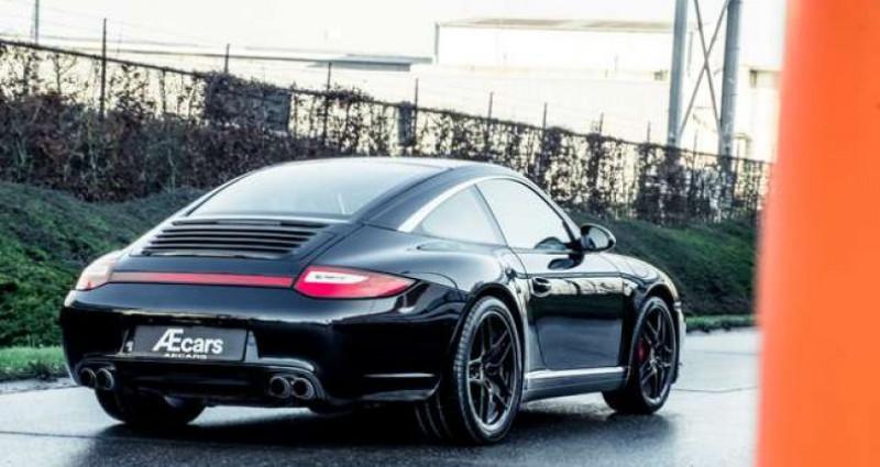 Porsche 911 Type 997 997 TARGA 4S MANUAL - PDK - SPORT EXHAUST Noir occasion à IZEGEM - photo n°3