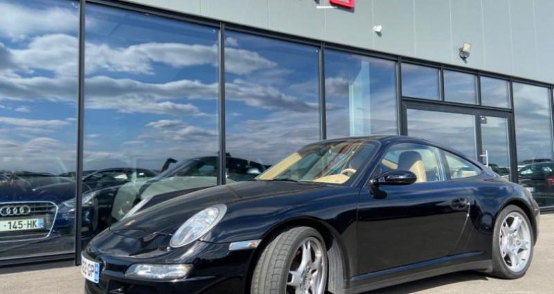 Porsche 911 Type 997 CARRERA 4 997 Coupe 4S 3.8i Noir occasion à Bouxières Sous Froidmond - photo n°3