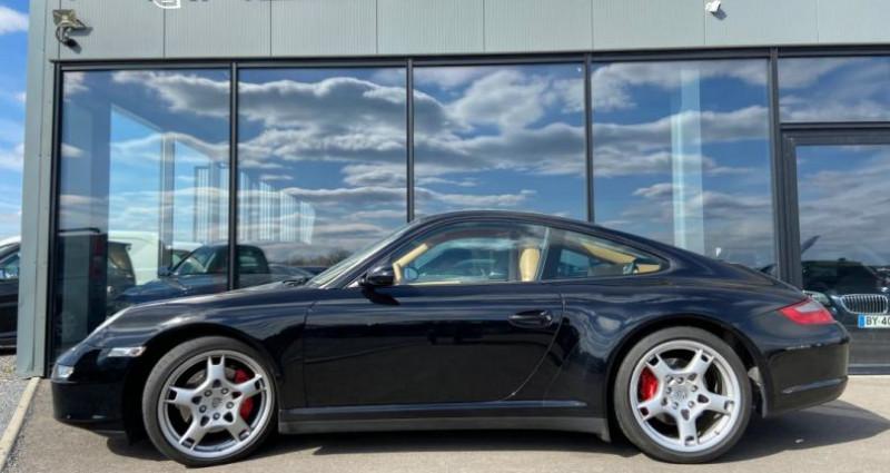 Porsche 911 Type 997 CARRERA 4 997 Coupe 4S 3.8i Noir occasion à Bouxières Sous Froidmond - photo n°2