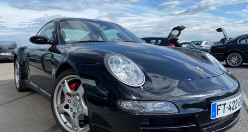 Porsche 911 Type 997 CARRERA 4 997 Coupe 4S 3.8i Noir occasion à Bouxières Sous Froidmond - photo n°7