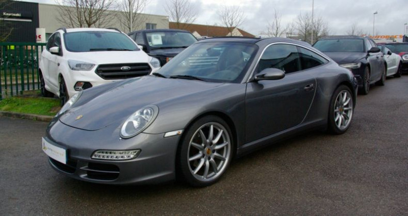 Porsche 911 Type 997 CARRERA 4 COUPE 997 (997) 3.6 325 TARGA 4 Gris occasion à SAINT MAXIMUM - photo n°3
