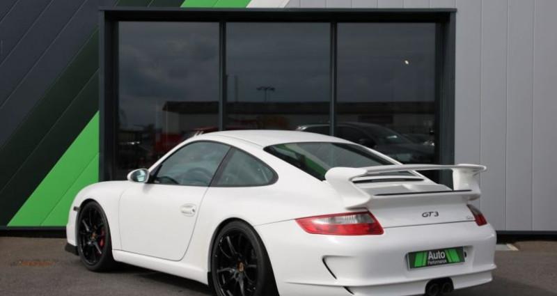 Porsche 911 Type 997 GT3 (997) 3.6 415 Blanc occasion à Jaux - photo n°4